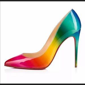 Christian Louboutin Rainbow Pigalle Follies Pumps